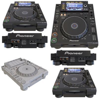 现代先锋DJ打碟机