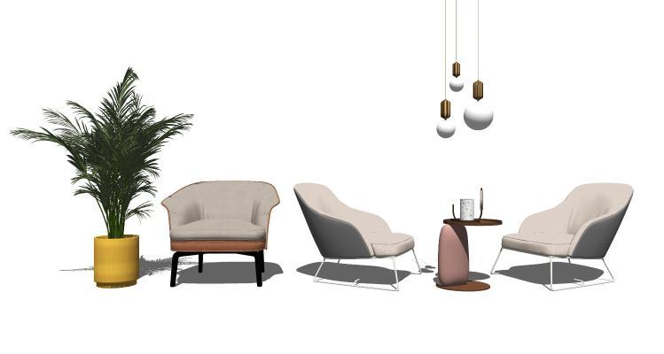 现代休闲椅 椅子 懒人沙发