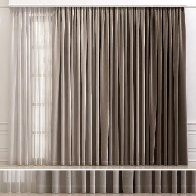 现代窗帘 窗纱