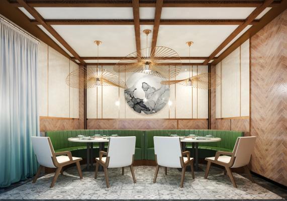 现代餐厅 包间