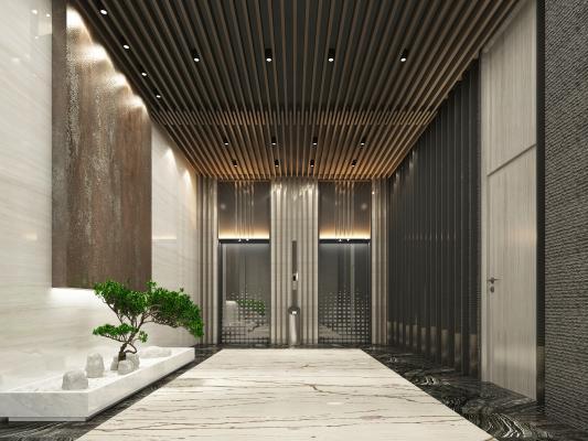 中式电梯空间