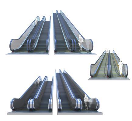 現代手扶電梯