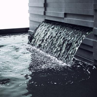 现代景观喷泉水池