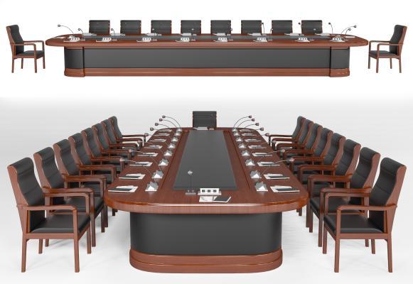 现代会议桌椅 洽谈桌椅