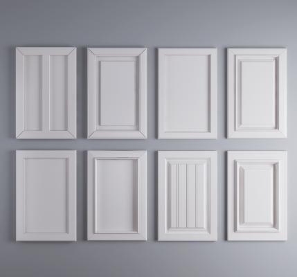现代橱柜吊柜衣柜酒柜门板