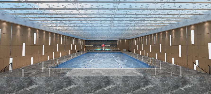 �F代泳池