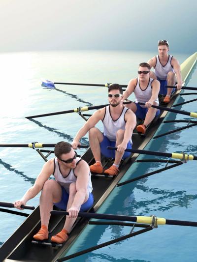 现代运动员 皮划艇