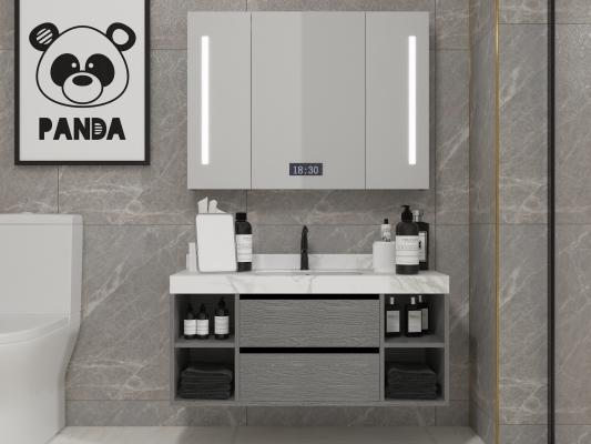 现代卫浴柜 智能镜柜