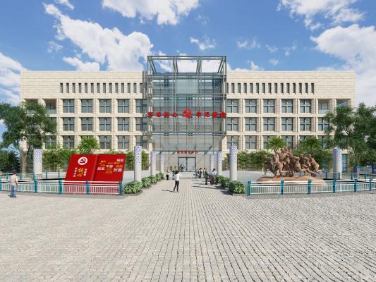 现代风格建筑户外 风格建筑 办公楼