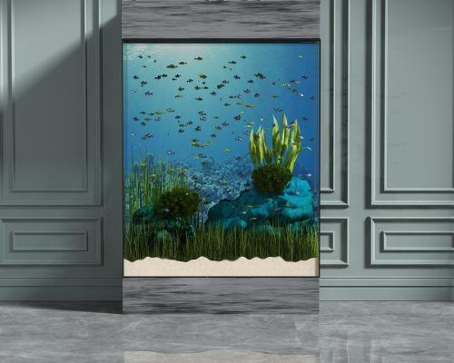 现代鱼缸水族