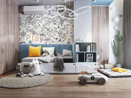 现代儿童房