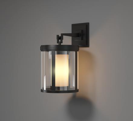 新中式铁艺壁灯