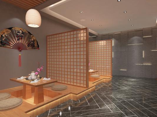 日式餐厅 料理包间
