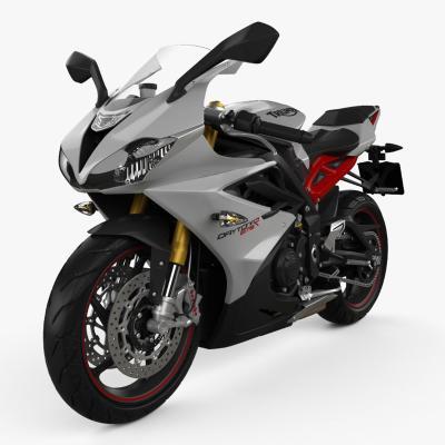 现代摩托车 机车 凯旋代托纳675R