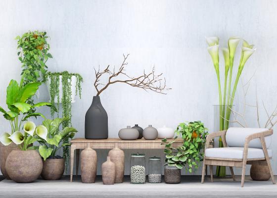 北欧盆栽 装饰品