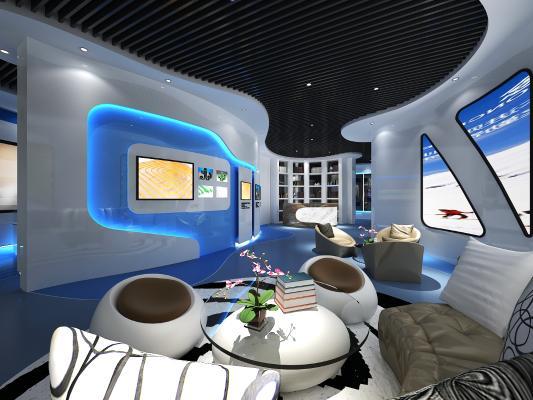 现代风格展厅 企业展厅