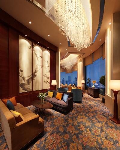 现代风格酒店休息区