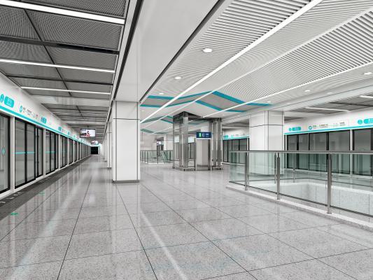 现代地铁车站