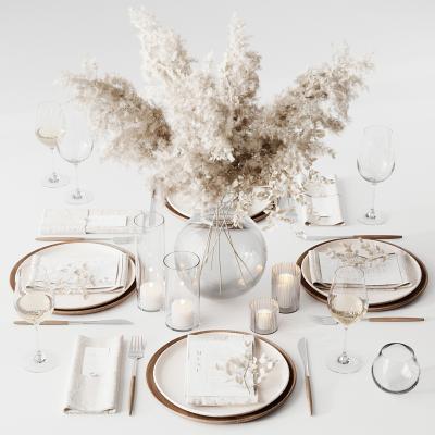 現代餐具花瓶擺盤陳設