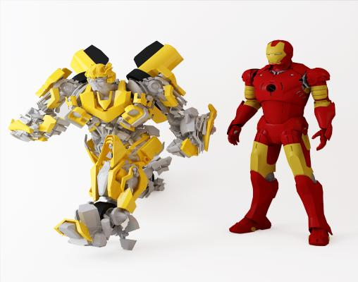 现代玩具机器人