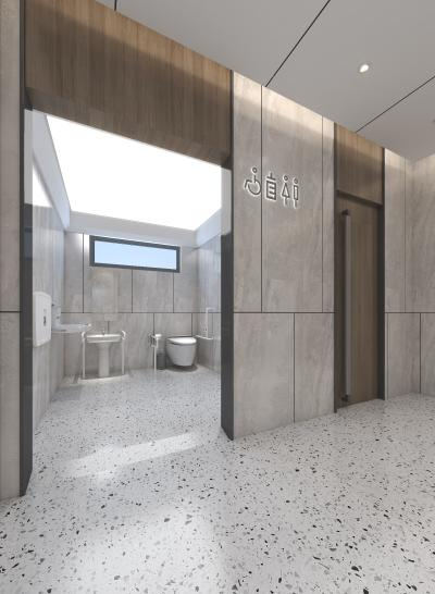 现代卫生间 母婴室