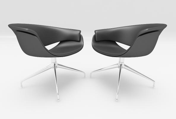 现代风格单椅