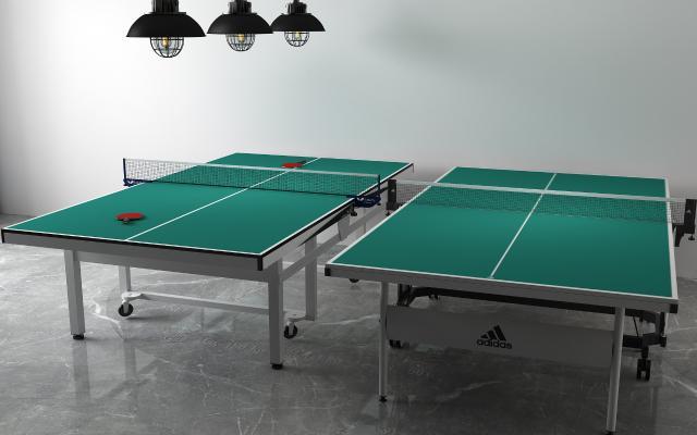 现代乒乓球桌