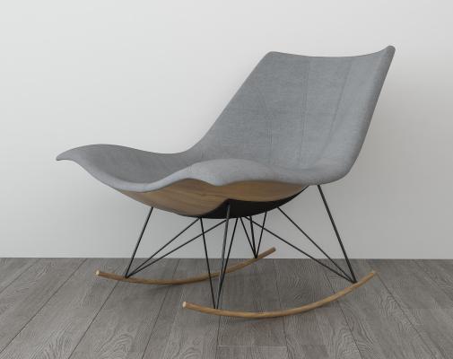 現代簡約躺椅 搖椅
