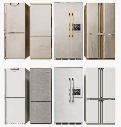 现代冰箱组合