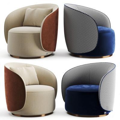 現代單人沙發