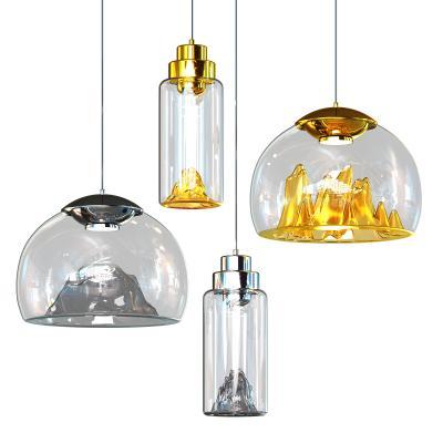北欧玻璃吊灯