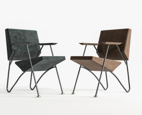 现代单椅 餐桌椅 休闲椅