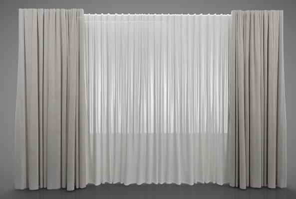 现代风格窗帘