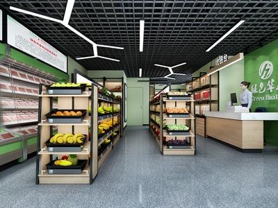 現代專賣店 果蔬超市
