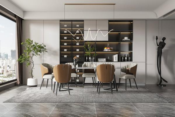現代餐廳 餐桌椅 椅子