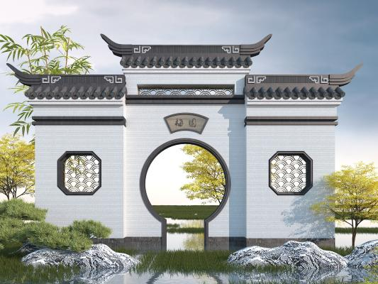 中式建筑小品