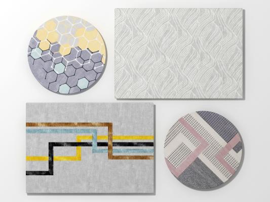 北欧地毯组合