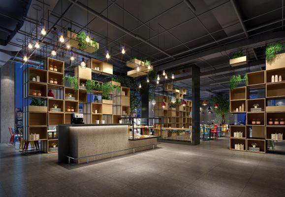 工業風咖啡廳