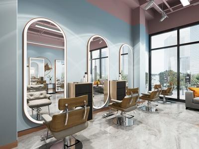 现代理发店 镜子