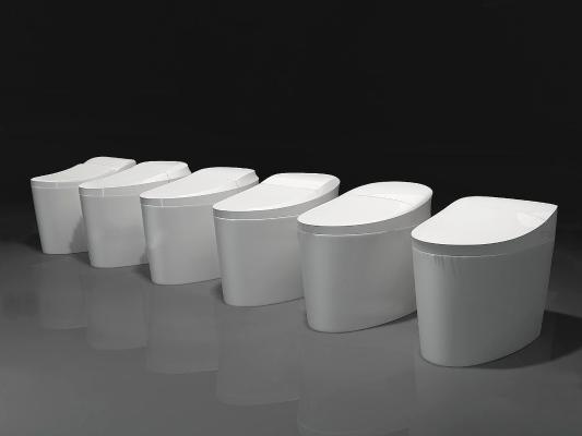 现代智能陶瓷马桶