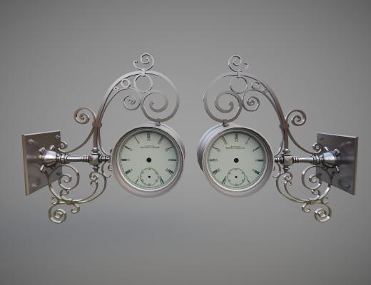 北欧壁挂钟