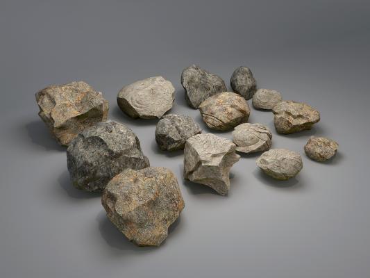 现代园林石头 鱼池石头 景观石头
