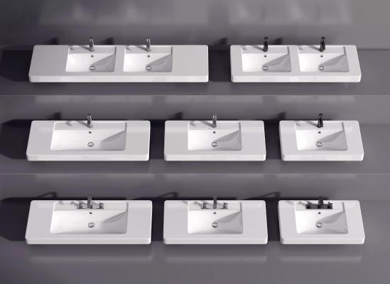 现代洗手盆 台盆 台上盆