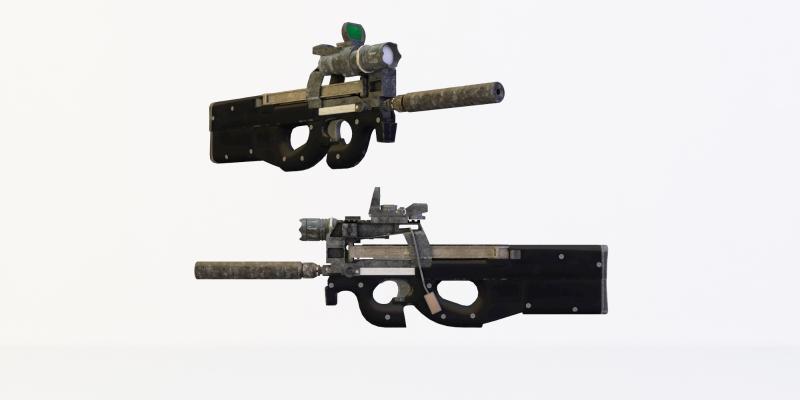 现代冲锋枪