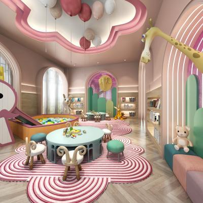 现代儿童图书游乐区