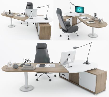 现代办公桌 班台 经理桌