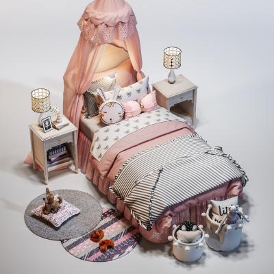 现代儿童床组合