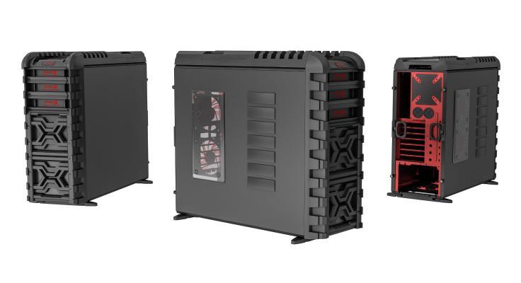 现代电脑机箱 主机