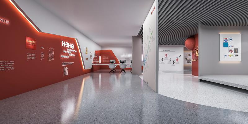 现代党建展厅 展示屏