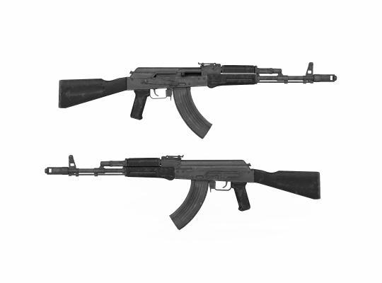 现代AK47突击步枪 冲锋枪